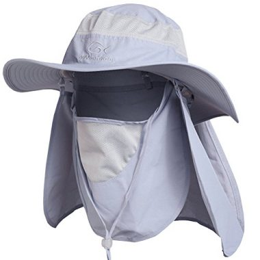 DDYOUTDOOR Outdoor Flap Hat Hiking Hat