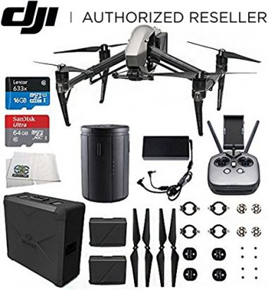 DJI Inspire 2 Quadcopter Starters Bundle Fishing Drone