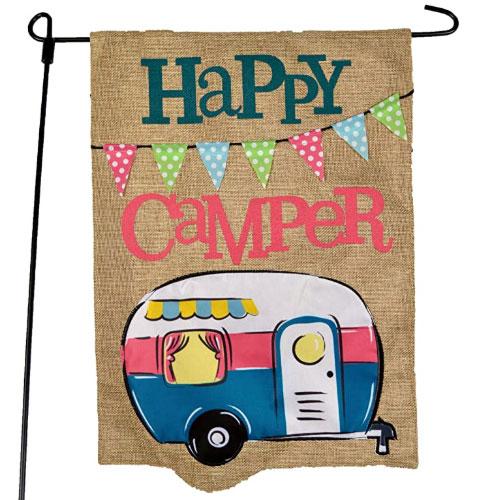 JEC Home Goods Camping Camper Garden Flag