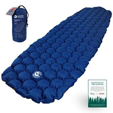 ECOTEK Hybern8 Ultralight Inflatable Backpacking Sleeping Pad