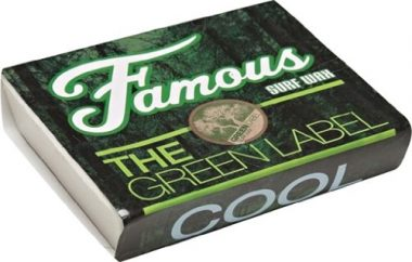 Famous Green Label Cool Surf Wax