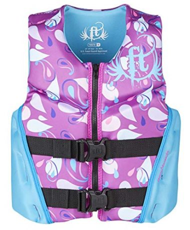 Full Throttle Youth Rapid Dry Flex-Back Life Jacket
