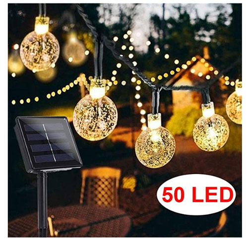 BriPower 50 LEDs Garden Solar Lights