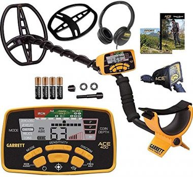 Garrett Ace 400 Metal Detector with Waterproof Coil