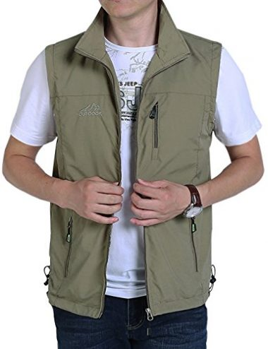 Gihuo Casual Outdoor Lightweight Hiking Vest