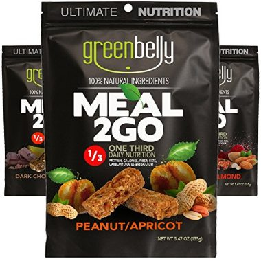Greenbelly Natural Meal bars Backpacking Food