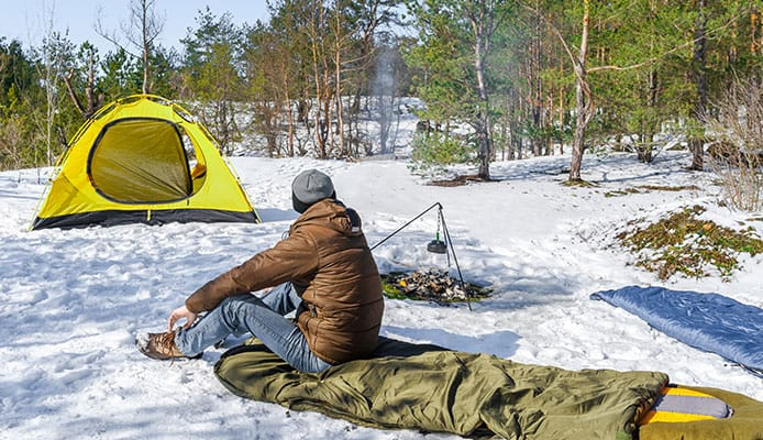 How_To_Choose_Sleeping_Pad_For_Winter_Camping