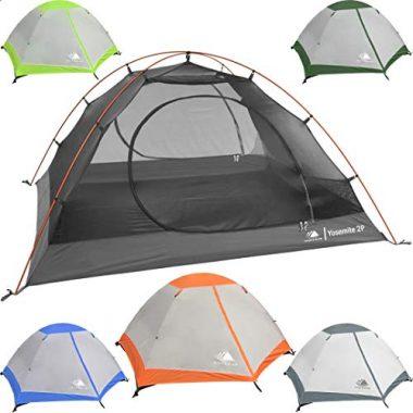 Hyke and Byke Yosemite Backpacking Freestanding Tent