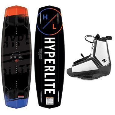 Hyperlite Wakeboard Package 2018 Vapor with Destroyer Wakeboard Bindings