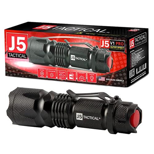 J5 Tactical V1-PRO LED Tactical Pocket Flashlight