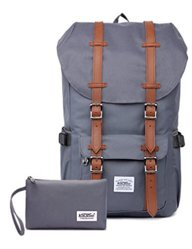 Travel, Hiking & Camping Outdoor Backpack by KAUKKO