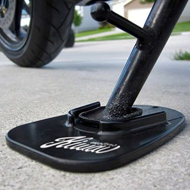 KiWAV Motorcycle kickstand pad support