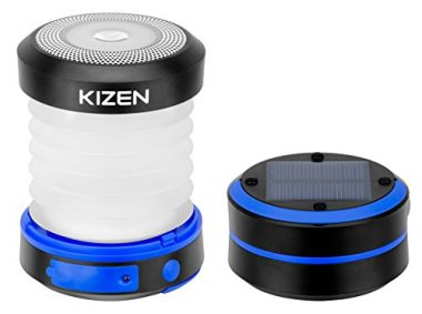 Kizen Powered LED Camping Solar Lantern