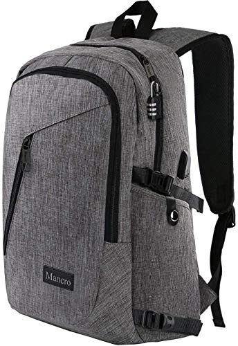 Mancro Laptop Computer Travel Backpack