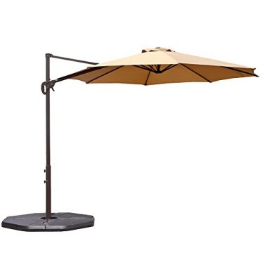 Le Papillon Cantilever Outdoor Patio Umbrella