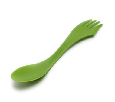 Light my Fire Original BPA-Free Tritan Spork with Full-Sized Spoon, Fork and Serrated Knife Edge