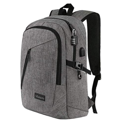Mancro Laptop Travel Backpack