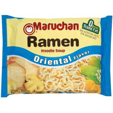 Maruchan Flavor Ramen Noodles Backpacking Food