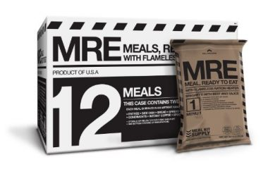 Meal Kit Supply Premium Fresh MREs Meal with Heaters Backpacking Food