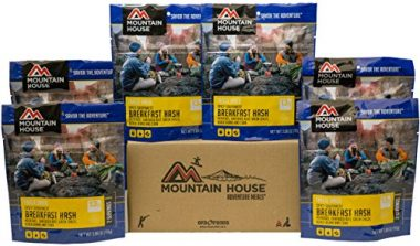 Mountain House Spicy Southwest Breakfast Hash Backpacking Food