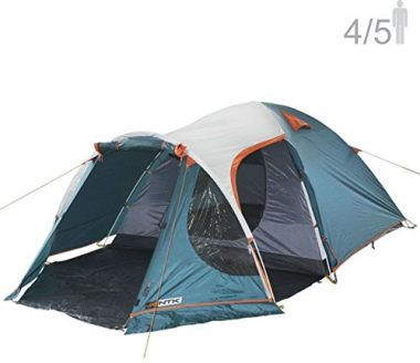 NTK INDY GT 4 to 5 Person 12.2 by 8 Foot Outdoor Dome Family Camping Tent