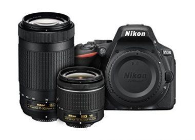 Nikon D5500 DX-format Digital SLR Camera For Hiking