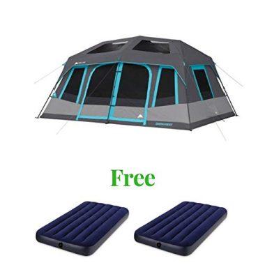 OZARK Trail Family Cabin 10 Person Tent