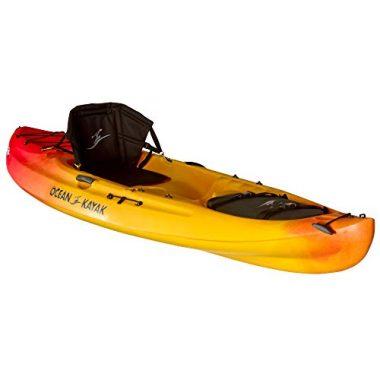 Ocean Kayak Caper Classic One-Person Recreational Sit-On-Top Kayak, Sunrise