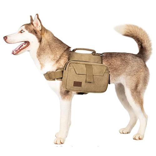 OneTigris Hiking Dog Saddle Bag