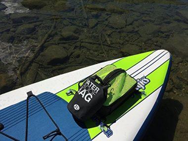 Paddle Board Accessories – SUP Cooler Bag and Mesh Top in One, Plus a Bonus 2L Waterproof Dry Bag