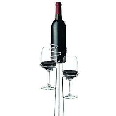Wine Bottle and Glass Holders by True