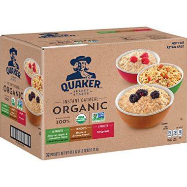 Organic Instant Oatmeal Backpacking Food