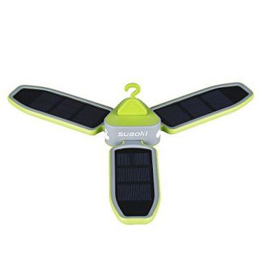 SUAOKI Collapsible Camping Solar Lantern