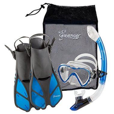 Seavenger Adult and Junior Diving Snorkel Set