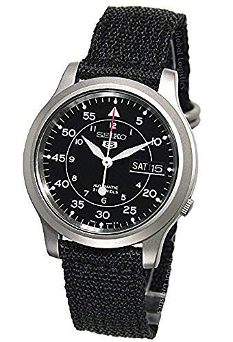 Seiko Men's SNK809 Seiko 5 Automatic Stainless Steel Tactical Watch