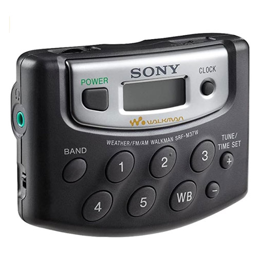SONY SRF-M37 Digital Tuning AM FM Portable Radio