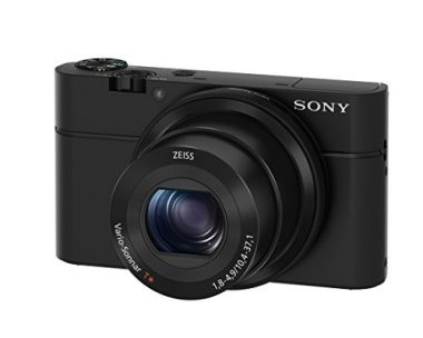Sony RX100 20.2 MP Premium Camera For Hiking