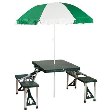 Picnic Table and Umbrella by Stansport