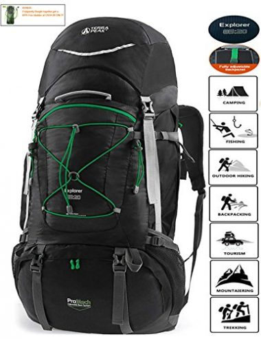 TERRA PEAK Explorer Adjustable Hiking Backpack