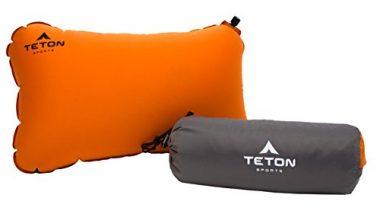 Teton Sports ComfortLite Self-Inflating Camping Pillow