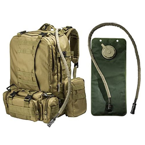 Monkey Paks MOLLE Bags Hydration Tactical Backpack