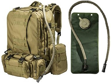 Monkey Paks Tactical Military MOLLE Backpack