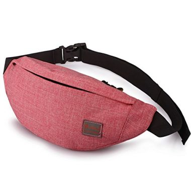 Tinyat Adjustable Belt Travel Fanny Pack