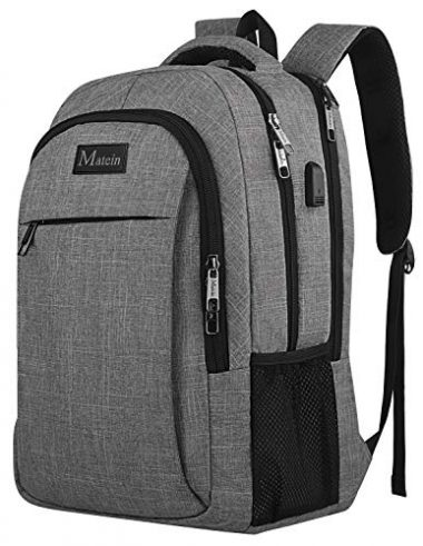 Travel Laptop Backpack (Business, Anti-Theft) by MATEIN