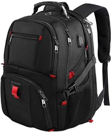 Extra Large Travel Laptop Backpack by YOREPEK