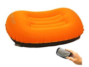 Trekology Ultralight Inflating Travel Camping Pillow