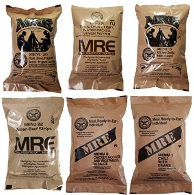 Western Frontier Ultimate MRE Backpacking Food