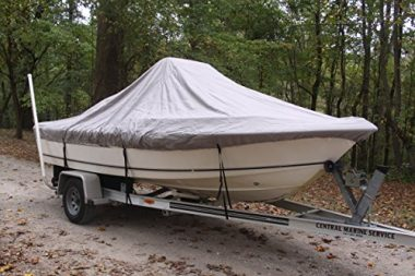 Vortex Grey Heavy Duty Boat Cover