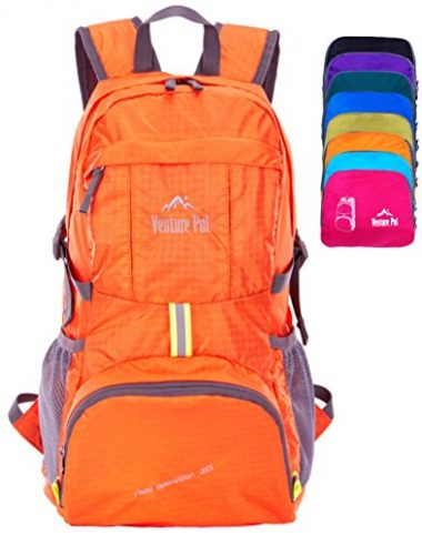Lightweight Hiking Daypack Backpack by Venture Pal