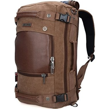 WITZMAN Men Vintage Travel Backpack